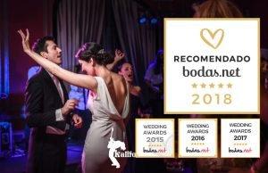 Orquesta Kalifornia se hace con el galardón más reconocido de las bodas